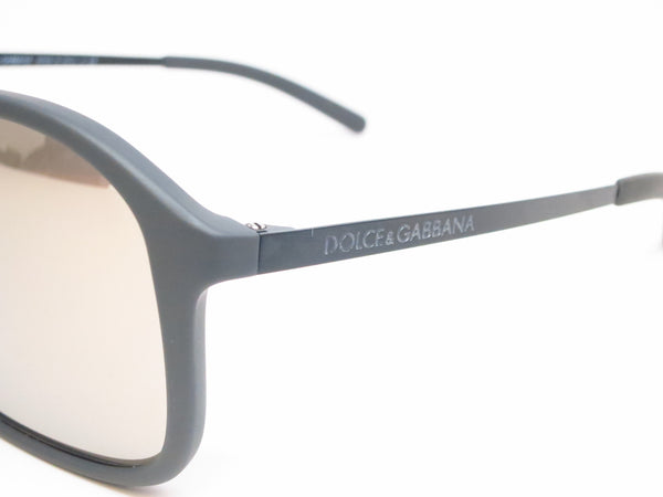 Dolce & Gabbana DG 6083 2651/6G Grey Rubber Sunglasses - Eye Heart Shades - Dolce & Gabbana - Sunglasses - 4