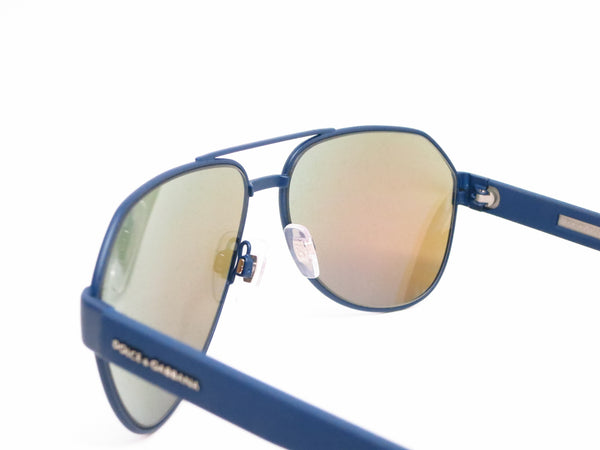 Dolce & Gabbana DG 2149 1273/25 Blue Rubber Sunglasses - Eye Heart Shades - Dolce & Gabbana - Sunglasses - 6