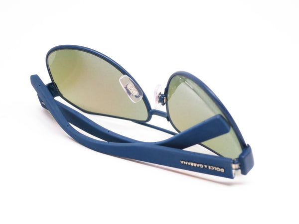 Dolce & Gabbana DG 2149 1273/25 Blue Rubber Sunglasses - Eye Heart Shades - Dolce & Gabbana - Sunglasses - 8