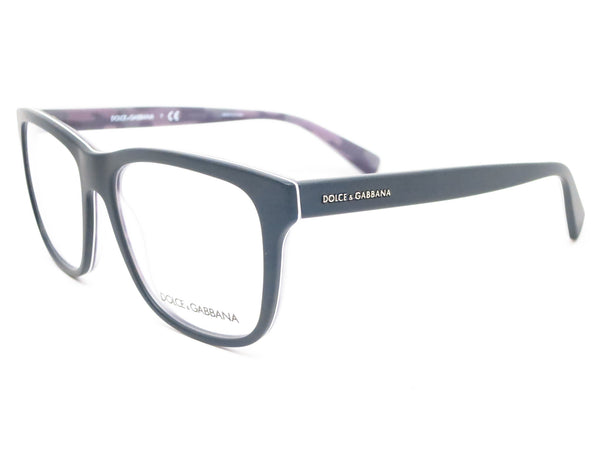 Dolce & Gabbana DG 3206 Top Black on Matte Mimetec 2803 Eyeglasses - Eye Heart Shades - Dolce & Gabbana - Eyeglasses - 1