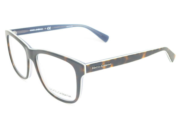 Dolce & Gabbana DG 3206 Top Havana on Matte Petroleum 2867 Eyeglasses - Eye Heart Shades - Dolce & Gabbana - Eyeglasses - 1