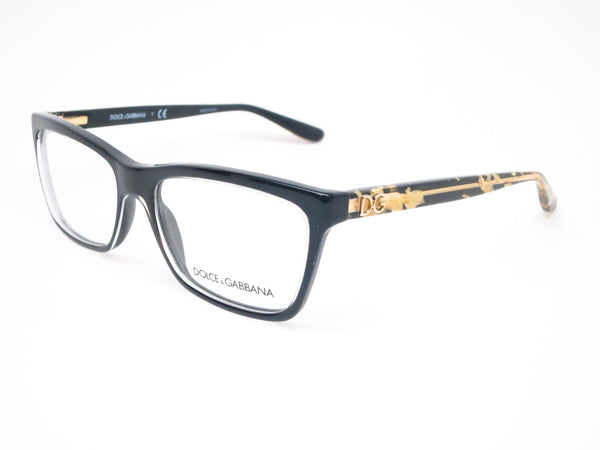 Dolce & Gabbana DG 3220 Crystal on Black 2917 Eyeglasses - Eye Heart Shades - Dolce & Gabbana - Eyeglasses - 1