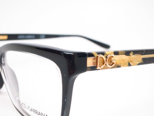 Dolce & Gabbana DG 3220 Crystal on Black 2917 Eyeglasses - Eye Heart Shades - Dolce & Gabbana - Eyeglasses - 3