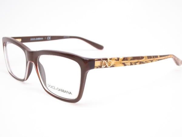 Dolce & Gabbana DG 3220 Crystal on Brown 2918 Eyeglasses - Eye Heart Shades - Dolce & Gabbana - Eyeglasses - 1