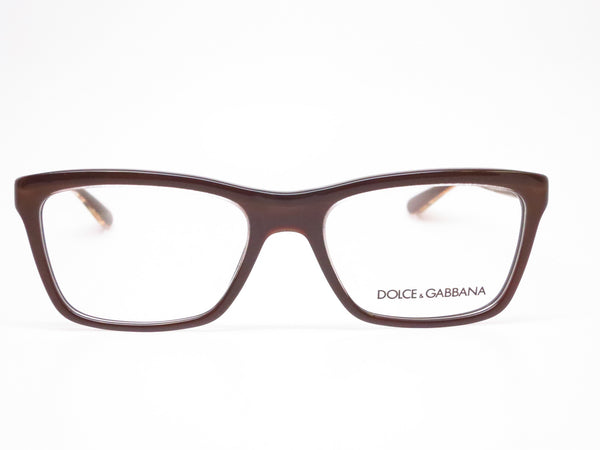 Dolce & Gabbana DG 3220 Crystal on Brown 2918 Eyeglasses - Eye Heart Shades - Dolce & Gabbana - Eyeglasses - 2