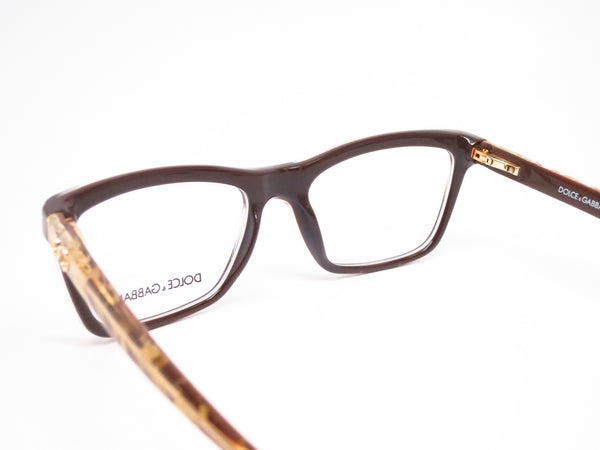 Dolce & Gabbana DG 3220 Crystal on Brown 2918 Eyeglasses - Eye Heart Shades - Dolce & Gabbana - Eyeglasses - 6