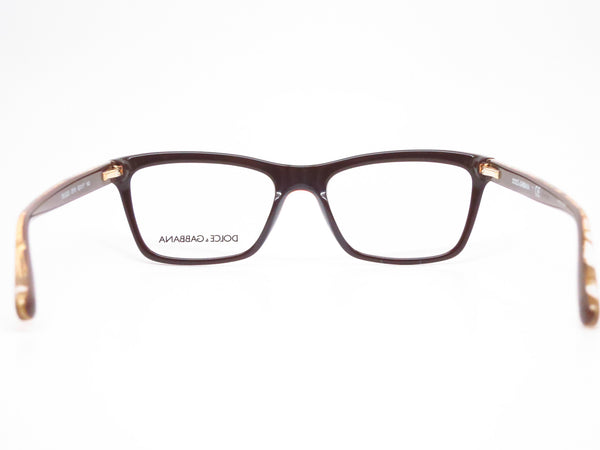 Dolce & Gabbana DG 3220 Crystal on Brown 2918 Eyeglasses - Eye Heart Shades - Dolce & Gabbana - Eyeglasses - 7