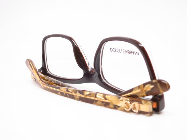 Dolce & Gabbana DG 3220 Crystal on Brown 2918 Eyeglasses - Eye Heart Shades - Dolce & Gabbana - Eyeglasses - 8
