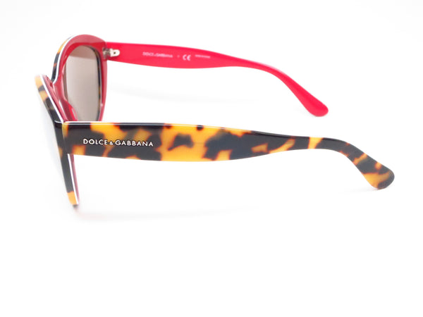 Dolce & Gabbana DG 4239 2893/6G Top Havana on Red Sunglasses - Eye Heart Shades - Dolce & Gabbana - Sunglasses - 5