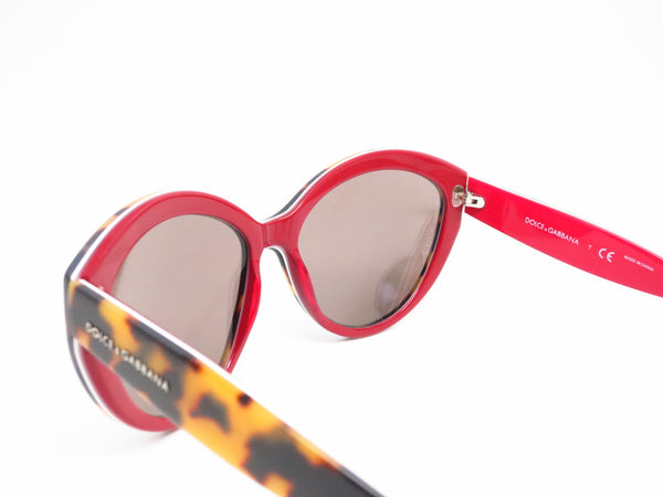 Dolce & Gabbana DG 4239 2893/6G Top Havana on Red Sunglasses - Eye Heart Shades - Dolce & Gabbana - Sunglasses - 6