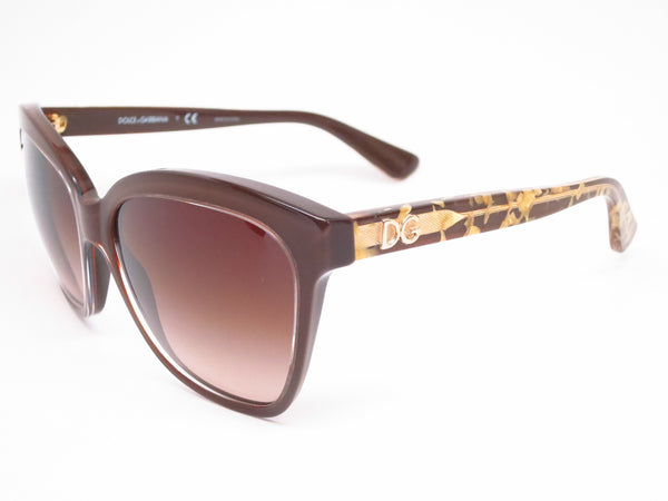 Dolce & Gabbana DG 4251 2918/13 Crystal on Brown Sunglasses - Eye Heart Shades - Dolce & Gabbana - Sunglasses - 1