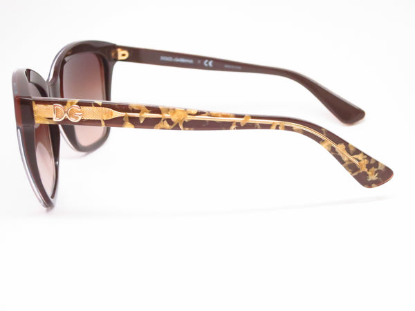 Dolce & Gabbana DG 4251 2918/13 Crystal on Brown Sunglasses - Eye Heart Shades - Dolce & Gabbana - Sunglasses - 5