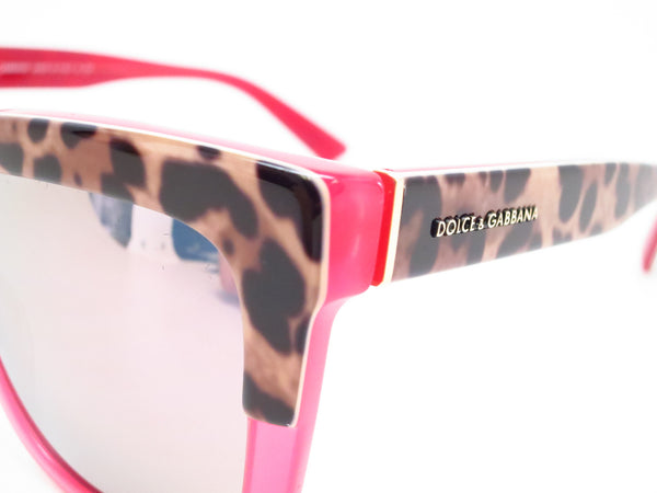 Dolce & Gabbana DG 4262 2949/5R Print Leo on Opal Rasberry Sunglasses - Eye Heart Shades - Dolce & Gabbana - Sunglasses - 3