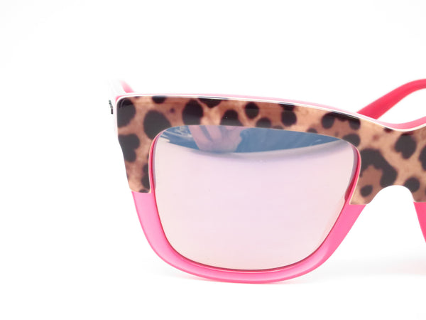 Dolce & Gabbana DG 4262 2949/5R Print Leo on Opal Rasberry Sunglasses - Eye Heart Shades - Dolce & Gabbana - Sunglasses - 4