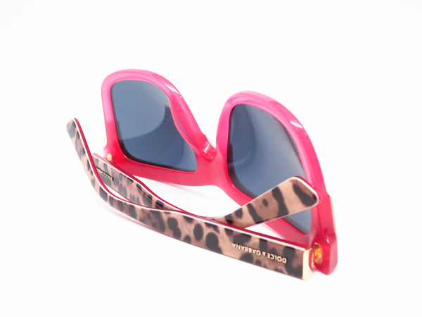 Dolce & Gabbana DG 4262 2949/5R Print Leo on Opal Rasberry Sunglasses - Eye Heart Shades - Dolce & Gabbana - Sunglasses - 8