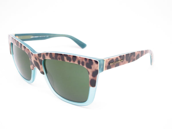 Dolce & Gabbana DG 4262 2971/71 Print Leo on Opal Green Sunglasses - Eye Heart Shades - Dolce & Gabbana - Sunglasses - 1