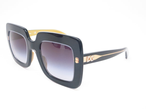 Dolce & Gabbana DG 4263 2955/8G Top Black on Gold Sunglasses - Eye Heart Shades - Dolce & Gabbana - Sunglasses - 1