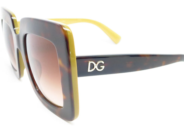 Dolce & Gabbana DG 4263 2956/13 Top Havana on Gold Sunglasses - Eye Heart Shades - Dolce & Gabbana - Sunglasses - 3