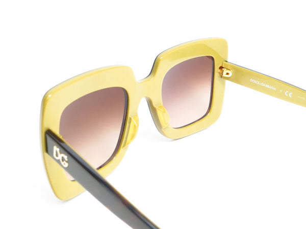 Dolce & Gabbana DG 4263 2956/13 Top Havana on Gold Sunglasses - Eye Heart Shades - Dolce & Gabbana - Sunglasses - 7