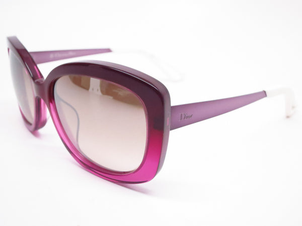 Dior Extase 2 KWTNQ Violet Transparent Sunglasses - Eye Heart Shades - Dior - Sunglasses - 1