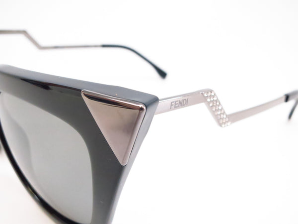 Fendi FF 0060/S KKL/SF Black Sunglasses - Eye Heart Shades - Fendi - Sunglasses - 3