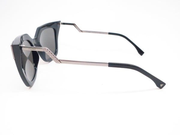 Fendi FF 0060/S KKL/SF Black Sunglasses - Eye Heart Shades - Fendi - Sunglasses - 5