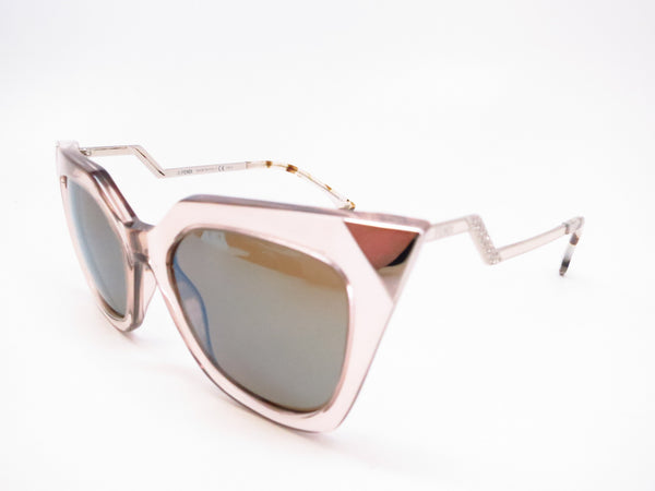 Fendi FF 0060/S MSQ/3U Turtledove Silver Palladium Sunglasses - Eye Heart Shades - Fendi - Sunglasses - 1