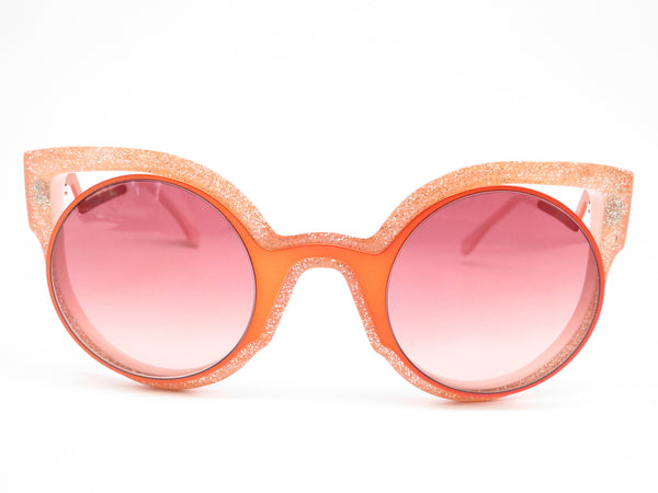 Fendi FF 0137 NUG/4C Orange Glitter Green Sunglasses - Eye Heart Shades - Fendi - Sunglasses - 2
