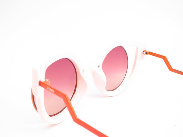 Fendi FF 0137 NUG/4C Orange Glitter Green Sunglasses - Eye Heart Shades - Fendi - Sunglasses - 6
