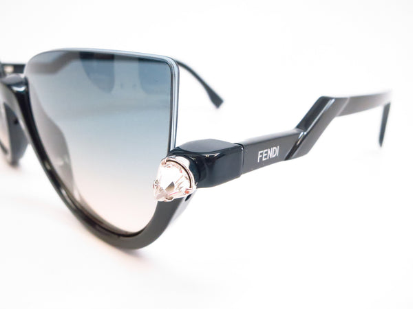 Fendi FF 138 29A/IE Shiny Black Sunglasses 0138 - Eye Heart Shades - Fendi - Sunglasses - 3