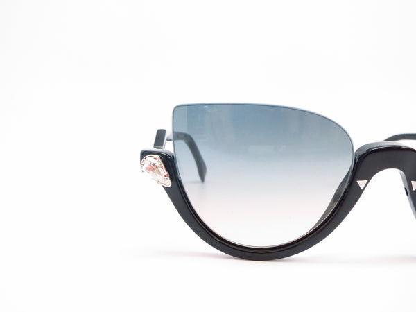 Fendi FF 138 29A/IE Shiny Black Sunglasses 0138 - Eye Heart Shades - Fendi - Sunglasses - 4