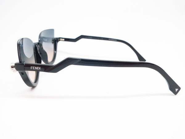 Fendi FF 138 29A/IE Shiny Black Sunglasses 0138 - Eye Heart Shades - Fendi - Sunglasses - 5