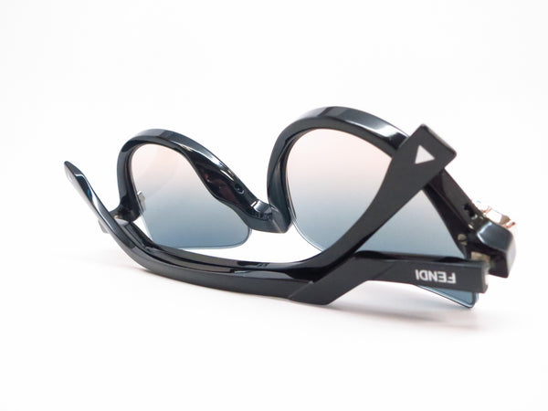 Fendi FF 138 29A/IE Shiny Black Sunglasses 0138 - Eye Heart Shades - Fendi - Sunglasses - 8