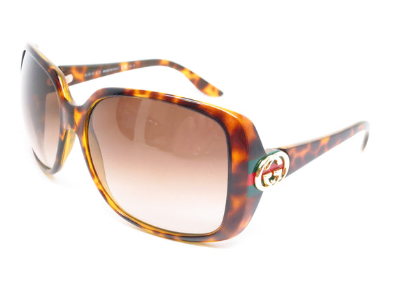 Gucci GG 3166/S OD9CC Tortoise Sunglasses - Eye Heart Shades - Gucci - Sunglasses - 1