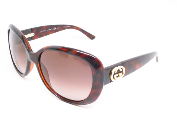 Gucci GG 3644/N/S DWJHA Havana Sunglasses - Eye Heart Shades - Gucci - Sunglasses - 1