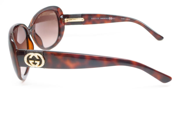 Gucci GG 3644/N/S DWJHA Havana Sunglasses - Eye Heart Shades - Gucci - Sunglasses - 5