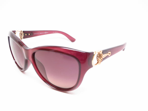 Gucci GG 3711/S 0D0R4 Burgundy Sunglasses - Eye Heart Shades - Gucci - Sunglasses - 1