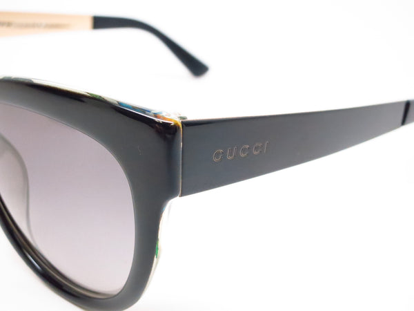 Gucci GG 3739/S 2ENVK Black Floral Crystal Sunglasses - Eye Heart Shades - Gucci - Sunglasses - 3