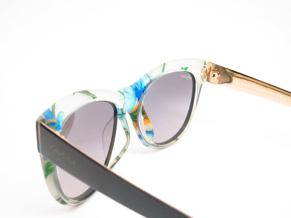 Gucci GG 3739/S 2ENVK Black Floral Crystal Sunglasses - Eye Heart Shades - Gucci - Sunglasses - 6