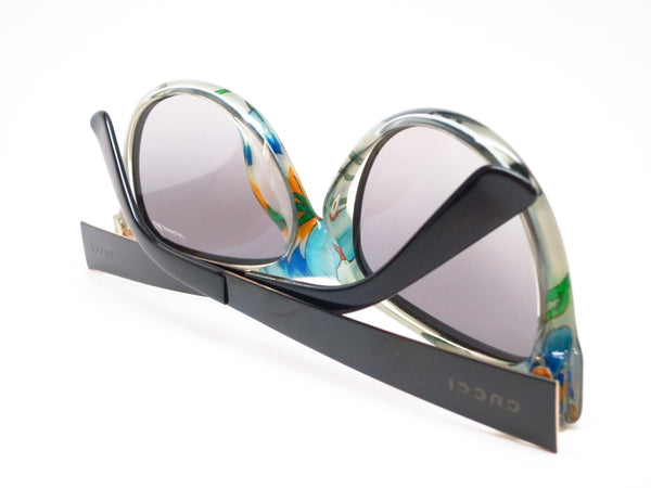 Gucci GG 3739/S 2ENVK Black Floral Crystal Sunglasses - Eye Heart Shades - Gucci - Sunglasses - 8