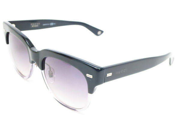 Gucci GG 3744/S X9H9C Grey Black Sunglasses - Eye Heart Shades - Gucci - Sunglasses - 1