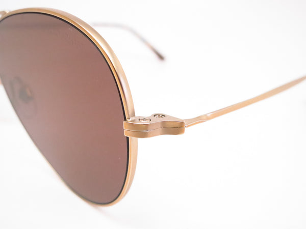 Giorgio Armani AR 6035 3002/73 Matte Pale Gold Sunglasses - Eye Heart Shades - Giorgio Armani - Sunglasses - 3