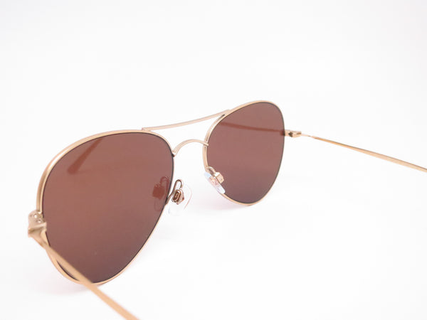 Giorgio Armani AR 6035 3002/73 Matte Pale Gold Sunglasses - Eye Heart Shades - Giorgio Armani - Sunglasses - 6