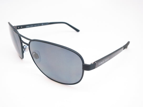 Giorgio Armani AR 6036 3136/81 Black Rubber Polarized Sunglasses - Eye Heart Shades - Giorgio Armani - Sunglasses - 1