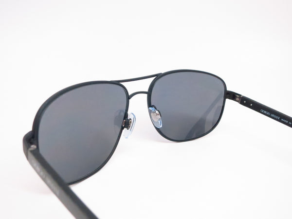 Giorgio Armani AR 6036 3136/81 Black Rubber Polarized Sunglasses - Eye Heart Shades - Giorgio Armani - Sunglasses - 6