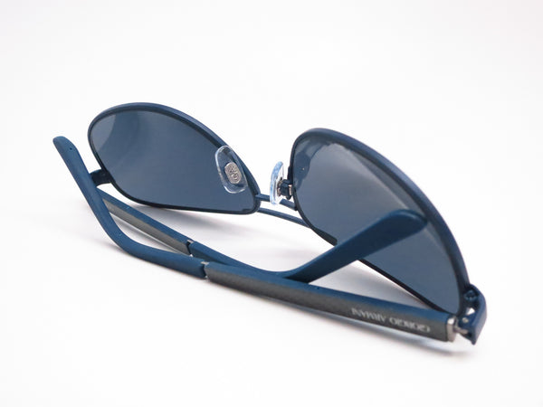 Giorgio Armani AR 6036 3137/87 Blue Rubber Sunglasses - Eye Heart Shades - Giorgio Armani - Sunglasses - 8