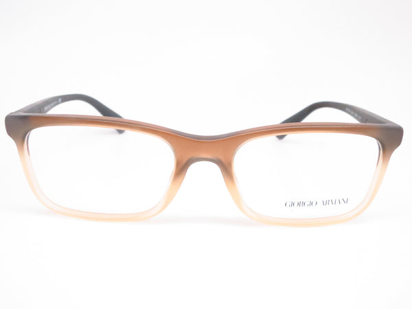 Giorgio Armani AR 7092 5444 Matte Brown Gradient Eyeglasses - Eye Heart Shades - Giorgio Armani - Eyeglasses - 2