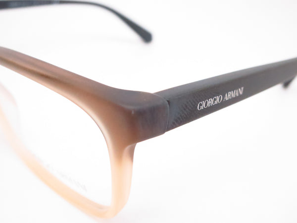Giorgio Armani AR 7092 5444 Matte Brown Gradient Eyeglasses - Eye Heart Shades - Giorgio Armani - Eyeglasses - 3