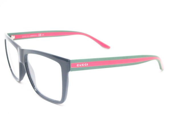 Gucci GG 1008 Black Green Red 51N Eyeglasses - Eye Heart Shades - Gucci - Eyeglasses - 1