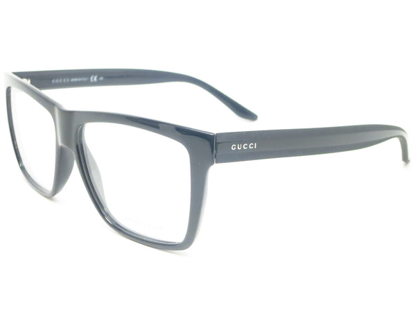 Gucci GG 1008 GG1008/S Black and Grey 52R Eyeglasses - Eye Heart Shades - Gucci - Eyeglasses - 1